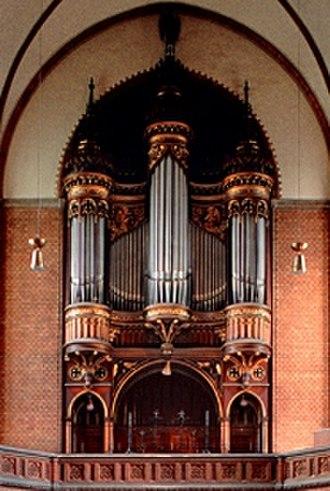 Marcussen & Søn - The Marcussen organ in St. Johannis Harvestehude Hamburg