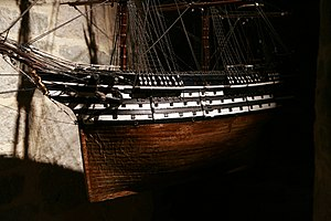 French ship Marengo (1810) - Image: Marengo mg 8070