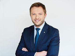 Margus Tsahkna Estonian politician