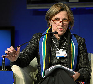 Maria Ramos - Maria Ramos at the World Economic Forum annual meeting in Davos, 2010