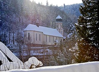 Maria in der Tanne - View on the church
