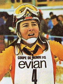 Marie-Theres Nadig Swiss alpine skier