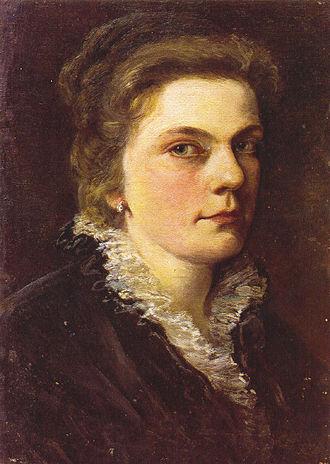 Marie Egner - Self-portrait (1878)
