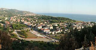 Ascea Comune in Campania, Italy