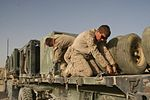 Marines with Combat Logistics Battalion 1 conduct retrograde operation in Helmand province, Afghanistan 140821-M-YZ032-151.jpg
