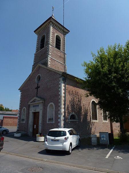 Marly (Nord, Fr) église Saint-Jacques
