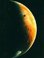 海盗2号抵达火星