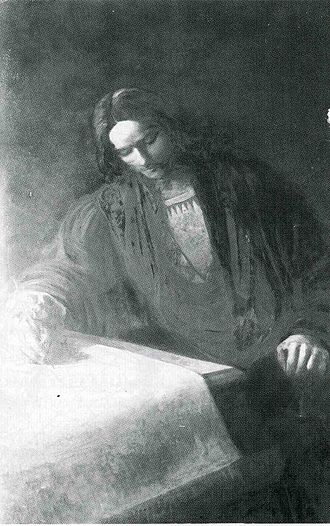 Martin Waldseemüller - Martin Waldseemüller (19th-century painting)