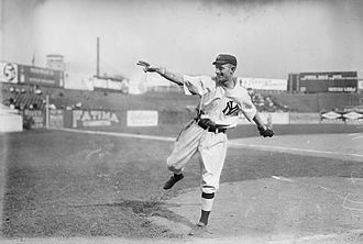 Marty McHale - Mchale during practice late in the 1913 season