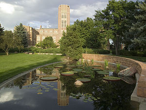 University of Denver - Mary Reed Hall and Harper Humanities Garden