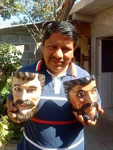 Mexican Mask Folk Art Wikipedia
