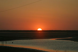 Matamoros, Tamaulipas - Sunset at Playa Bagdad