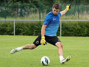 Mathew Ryan - Ryan training with Club Brugge in 2014