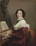 Mathilda Valeria Beatrix d´Orozco (1796-1863), tonsättare, sångerska, gift med 1 - Nationalmuseum - 39180.tif