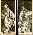 Matthias Grünewald - St Lawrence and St Cyricus - WGA10719.jpg