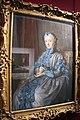 Maurice Quentin de La Tour, ritratto di madame la presidente de rieux in abito da ballo con una maschera, 1742, 01.JPG