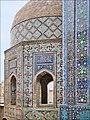 Mausolée octogonal (Shah-i-Zinda, Samarcande) (6014846159).jpg