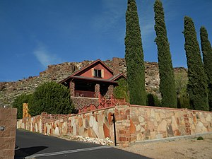 National Register of Historic Places listings in Mohave County, Arizona - Image: Max J. Anderson House NRHP 86001110 Mohave County, AZ