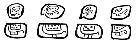 Fig. 45. Sign for 20 in the codices.
