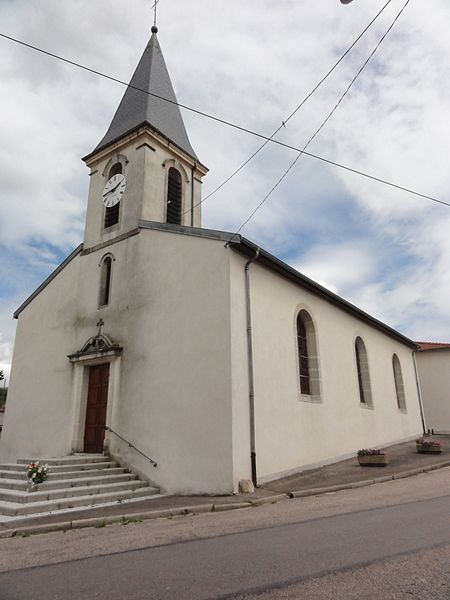 Mazerulles (M-et-M) église