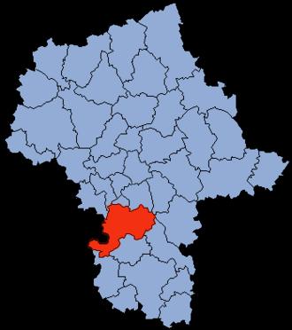 Grójec County - Image: Mazowsze Grójecki