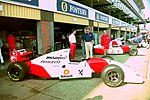 Mclaren MP4-9 at the 1994 British Grand Prix (32541381535).jpg