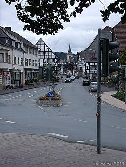 Niederstraße in Medebach
