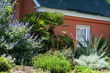 Charmant The Mediterranean Garden With The Historic Bridal Cottage In Background.  Today, Coastal Georgia Botanical ...
