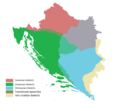Medieval Croatian in RH BiH and Boka.png