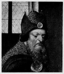 Kop van een kerkvader (fragment)
