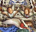 Melozzo da forlì, angeli coi simboli della passione e profeti, 1477 ca., cherubini 04.jpg