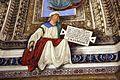 Melozzo da forlì, angeli coi simboli della passione e profeti, 1477 ca., profeta zaccaria 00.jpg