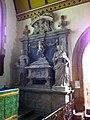 Memorial on the south side of the altar in St. Leonard's Church, Rockingham.jpg