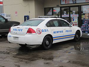 Memphis Police Department - MPD D.U.I. Unit vehicle
