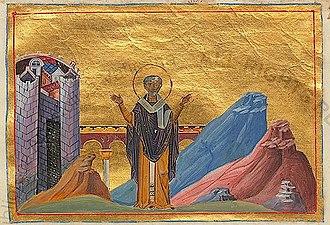 April 14 (Eastern Orthodox liturgics) - Image: Menologion of Basil 034