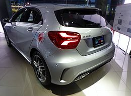 Mercedes-Benz A 180 Sports (W176) rear.JPG