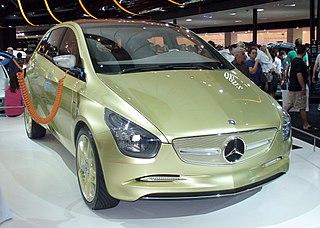 Mercedes-Benz BlueZERO Motor vehicle