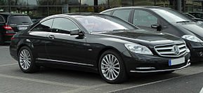 Mercedes-Benz CL 500 BlueEFFICIENCY (C 216, Facelift) – Frontansicht, 2. April 2011, Düsseldorf.jpg