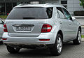 Mercedes ML 300 CDI BlueEFFICIENCY (W164) Facelift rear 20100612.jpg