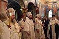 Metropolitan Hilarion of Volokolamsk, Metropolitan Jonah and Bishop John of Naro-Fominsk at St. John The Baptist Cathedral in Washington, May 13, 2017 (34485207112).jpg