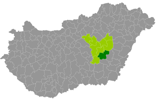 Mezőtúr District Districts of Hungary in Jász-Nagykun-Szolnok