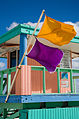 Miami - Lifeguard tower and flags - 0556.jpg