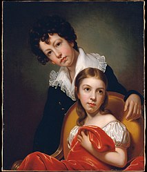 Rembrandt Peale: Michael Angelo and Emma Clara Peale