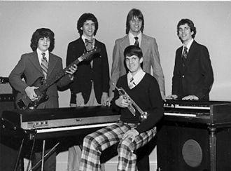 Michael Daugherty - Daugherty sons: (L-to-R) Tom, Pat, Michael, Tim, and Matt, 1973