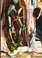 Michael pacher (attr.), madonna col bambino ion trono e santi, 1475 ca. 02 diavolo.jpg
