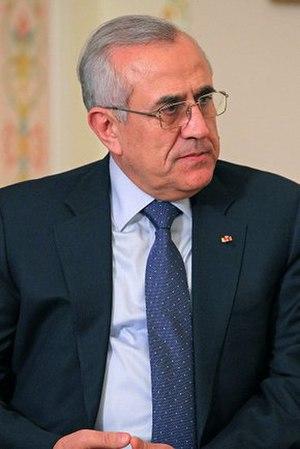 Michel Suleiman - Image: Michel Suleiman 2012