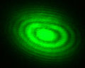Michelson Interferometer Green Laser Interference.jpg