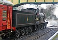Mid Hants Railway - historic locomotive at Ropley (geograph 4832086).jpg