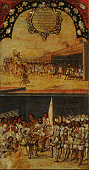 La Conquista de México, Tabla XV