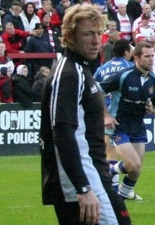 Mike Forshaw English rugby union player, and coach, and rugby league player, and coach